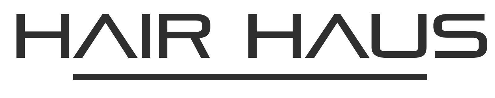 Logo Final, Hair Haus - Premium Hair Salon